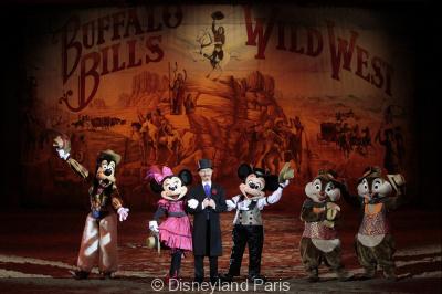 La Légende de Buffalo Bill à Disney Village
