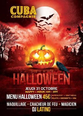 Halloween au Cuba Compagnie