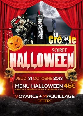 Soirée Halloween à La Créole