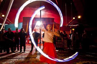 Grand Reveillon Tzigane au Cirque Romanes
