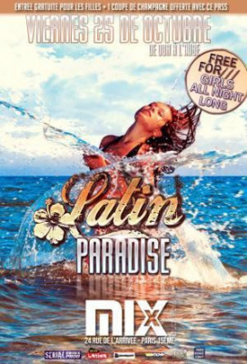 LATIN PARADISE - ENTREE GRATUITE @MIX CLUB