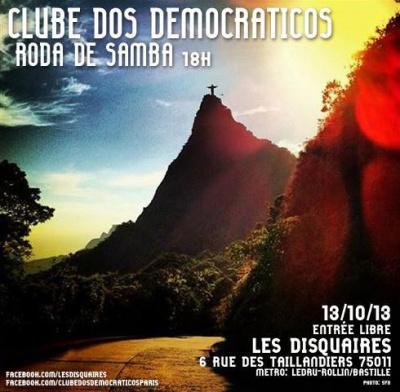 Roda de Samba @ Clube dos Democráticos