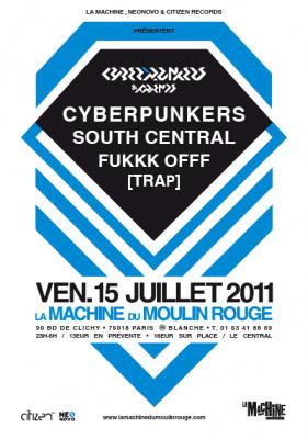 Cyberpunkers & Friends, la machine, soirée