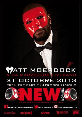 MATT MOERDOCK + AFROSOULICIOUS en concert
