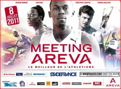 Athlétisme, Meeting Areva, Samsung Diamond League, Stade de France, 2011