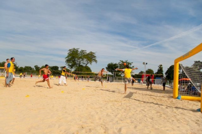 Porte Dorée Sports, Pelouse de Reuilly, Beach-Soccer