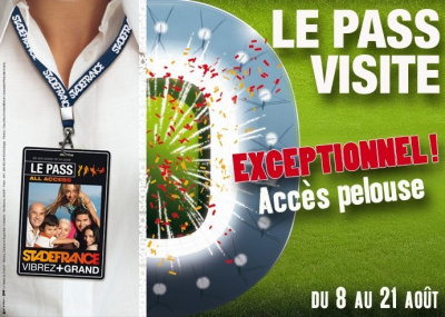 Stade de France, Visites