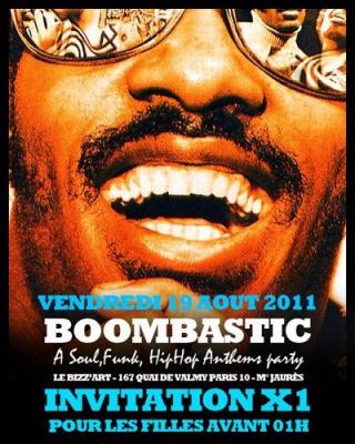 Boombastic Party, Bizz'Art, Soirée