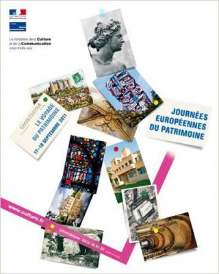 Journées Européennes du Patrimoine 2011, Affiche