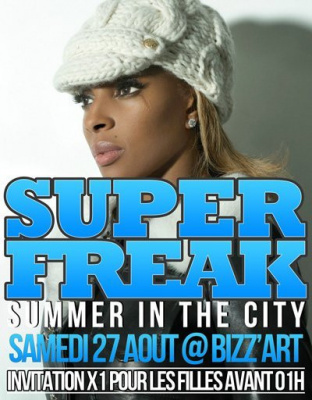 Superfreak Party, Bizz'Art Club, Soirée