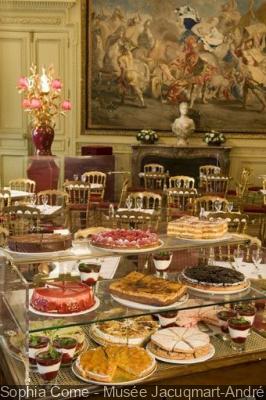 Des goûters d'anniversaire au Musée Jacquemart-André