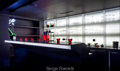 Le Black Bar de l'Hôtel Félicien