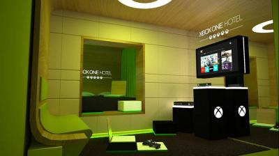 """L'hötel O devient le """"Xbox One Hôtel"""" à l'occasion de la sortie de la console"""