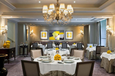 Réveillon du Nouvel An 2013-2014 aà l'Abeille, restaurant du Shangri La Hôtel