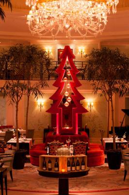 Noël du Shangri-La Hôtel Paris par Pinel & Pinel