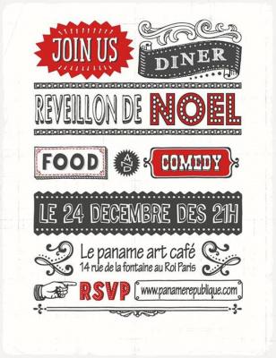 Réveillon de Noël au Paname Art Café