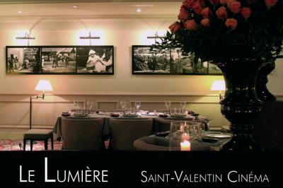 Saint Valentin 2014 cinéma au restaurant Le Lumière