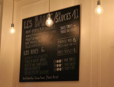 Balls : premier restaurant de boulettes à Paris