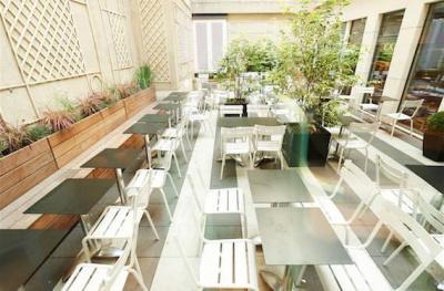 Les terrasses d'Exki dans Paris