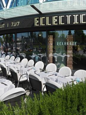 L'Eclectic inaugure sa terrasse