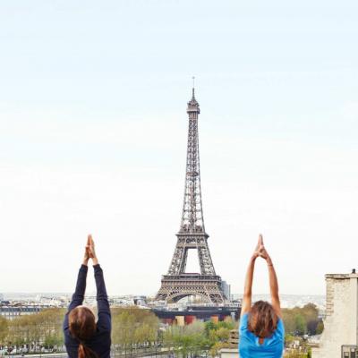 Yoga à la Maison Blanche