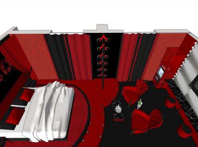 Ouverture de la suite Cabaret à l'Hôtel Seven