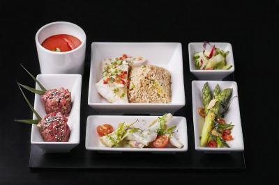 Le menu Bento du Buddha Bar