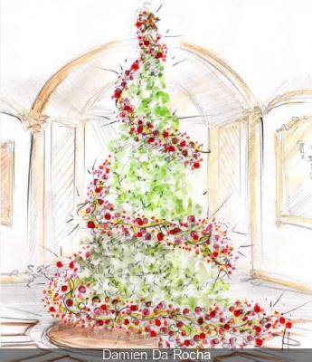 Noël gourmand au Shangri La Hotel