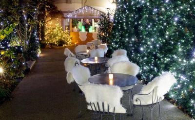 Terrasse d'hiver à l'Hôtel Renaissance Le Parc Trocadéro