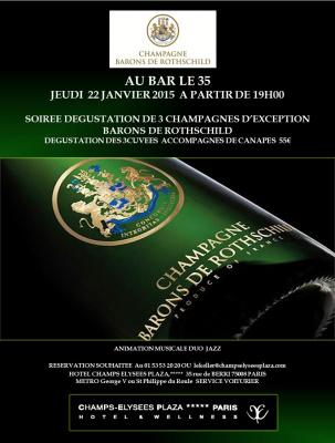 Soirée Champagnes aux Champs Elysées Plaza