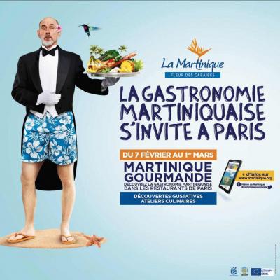 La gastonomie martiniquaise s'invite à Paris