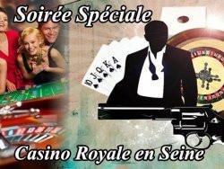 Soirée Casino Royal à bord du VIP Paris