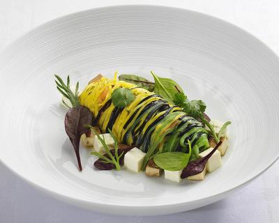 Menu Detox 100% veggie au Trianon Palace