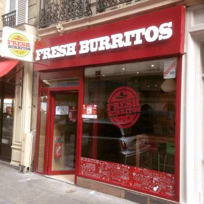 Fresh Burritos ouvre son 1er restaurant à Paris