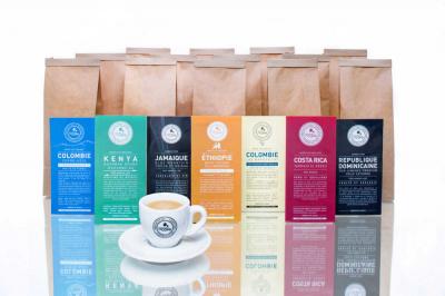 Le Printemps invite Terres de café