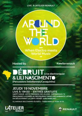 Le Brésil est à l'honneur pour une soirée à l'Atelier Renault
