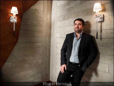 """Jean-François Piège élu """"homme de l'année"""" dans la catégorie """"chef par GQ"""
