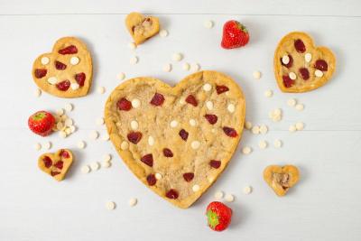 La Cookiterie lance ses cookies en forme de coeur pour la Saint Valentin