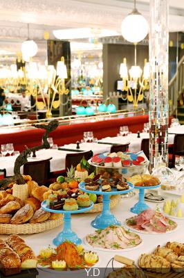 Le nouveau brunch royal de la brasserie Hôtel Thoumieux