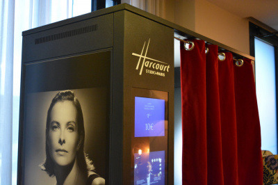 La cabine Harcourt s'installe au Terrass Hotel