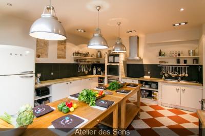 Cours de cuisine pour les sportifs à l'Atelier des Sens Bastille