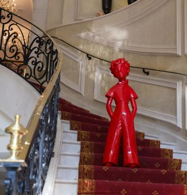 Le Paris Marriott Champs Elysées accueille le Petit Prince pour ses 70 ans