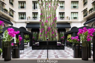 Nouvelle Cour de Marbre au Four Seasons Hotel George V