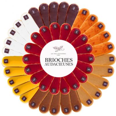 Les Fées Briochées : brioches gourmandes de Fées Pâtissières