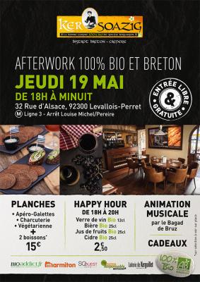 Afterwork 100% bio et breton chez Ker Soazig