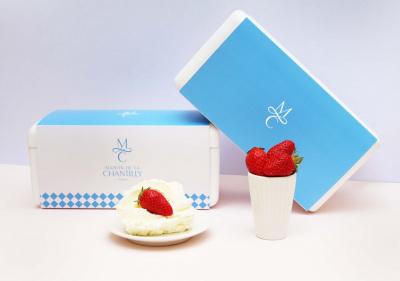 La véritable fraise chantilly livrée partout dans Paris