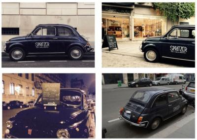 L'apéro en Fiat 500 avec Great Wine Italy
