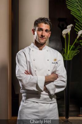 Jimmy Mornet, nouveau chef pâtissier du Park Hyatt Paris-Vendôme