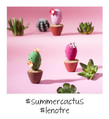 La tendance est au cactus chez Lenôtre