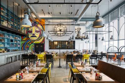 Le chef étoilé Gilles Choukroun ouvre son restaurant à l'aéroport d'Orly : CUP